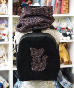 комплект раница и шал - идея за подарък