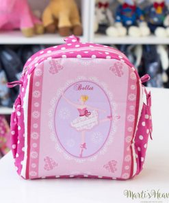 розова раница за момиче - балет, балерина, танци