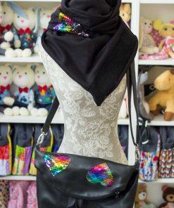 идея за подарък на жена - чанта и шал