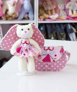 Подарък на момиче - детска чантичка и кукла