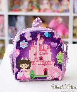 """Детска раничка """"Принцеса и замък"""""""