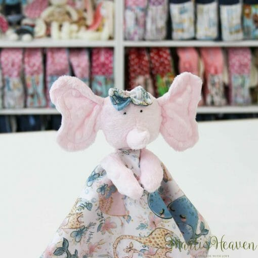 Мека и нежна играчка от Marti's Heaven - слонче